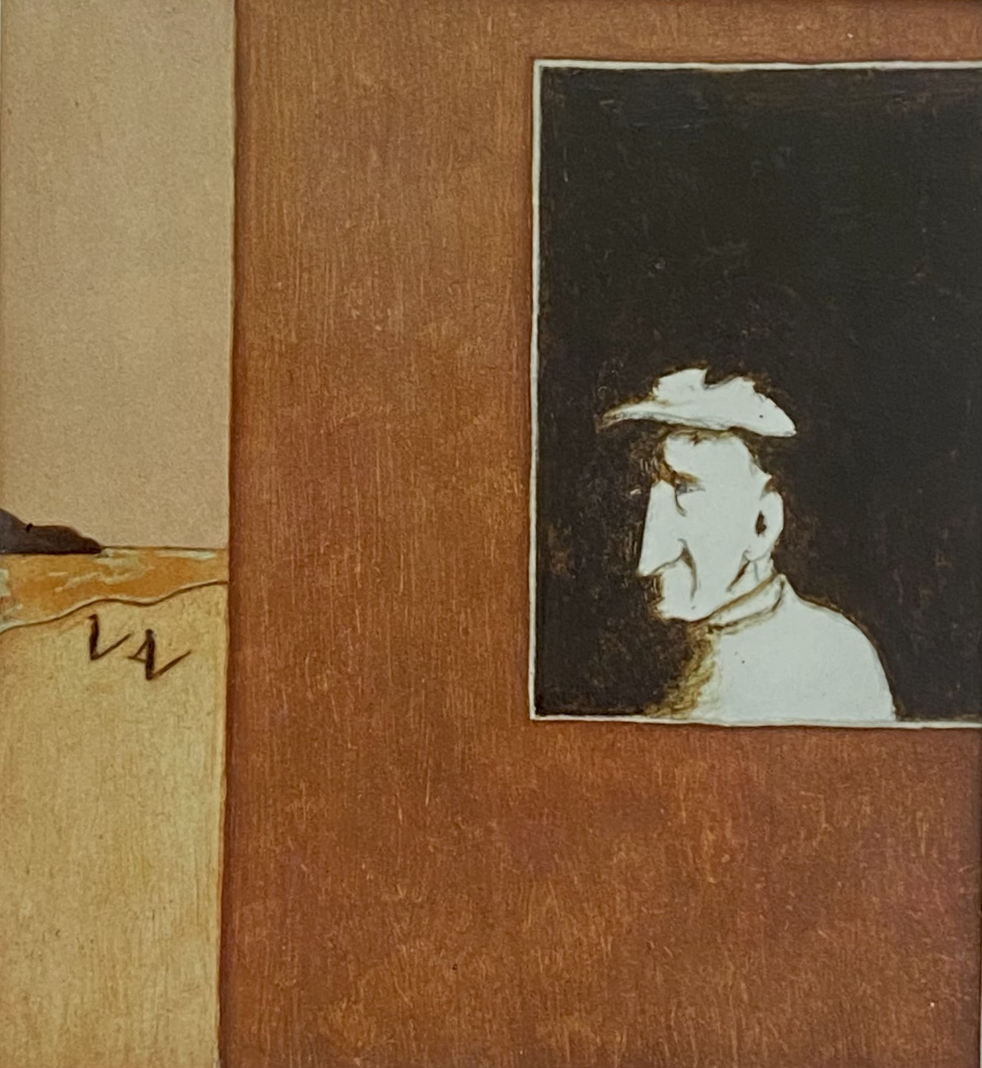 Alfred Wallis Noticing Ben Nicolson And Christopher Wood Half-an-Hour Before Their Discovery of Him