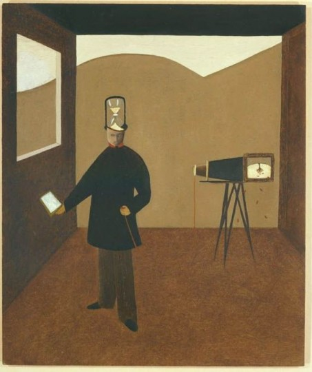 Painting of 'the photographer' by Andrew Lanyon